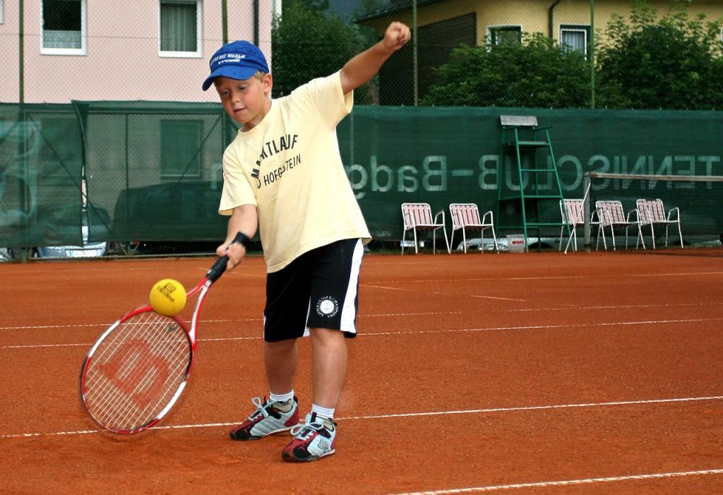 GEPA-2707071834 - BAD GASTEIN,AUSTRIA,27.JUL.07 - TENNIS - WTA, Gastein Ladies 07, Kids Day in Bad Gastein. Bild zeigt einen Teilnehmer. Foto: GEPA pictures/ Andreas Troester