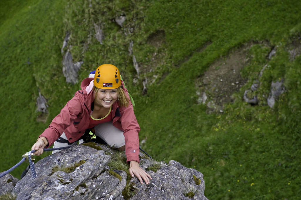 5.-6. Juli 2011 / Klettern, Klettersteig, Wandern, Radfahren, Solarbad, Badesee  © Claudia Ziegler